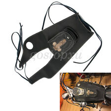 Motorcycle PU Leather Tank Fuel Gas Bag Cover Pouch For Honda Shadow 750 04-11