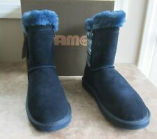 """LAM Suede & Knit """"Willow"""" Boots -  Women's size 8 - NEW"""