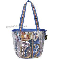 1 x Designer Handbag Feline Cats Lovers Bag Large