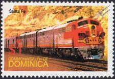 Santa Fe (ATSF) GM EMD class F7/F7A Diesel-train électrique locomotive STAMP