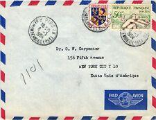 GP GOLDPATH: FRANCE COVER 1954 AIR MAIL _CV673_P14