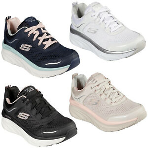Skechers Walking Womens Trainers Relaxed Fit D'Lux Walker Infinite Motion Shoes
