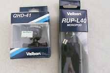 "Velbon RUP-L40 62"" Aluminum Monopod and QHD-41 Ball Head"