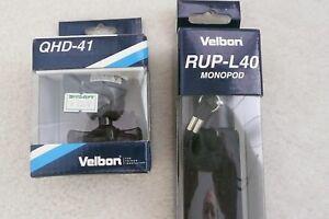 "Velbon RUP-L40 62"" Aluminum Monopod and QHD-41 Ball Head"