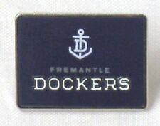 33681 FREMANTLE DOCKERS AFL TEAM LOGO MASCOT LAPEL TIE HAT