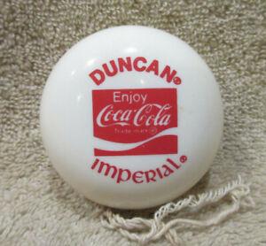 Vintage 1980s Duncan Coca-Cola IMPERIAL YoYo -EXCELLENT CONDITION!! -SEE PICS!!