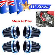 4PCS Air Filter Pod 54mm Fit For Honda Kawasaki Motorcycle 79-82 CB750 CB900