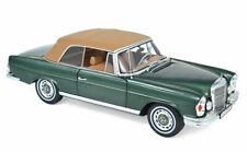 Norev 183434 1969 Mercedes-Benz 280 SE Cabriolet Softtop W111 grün metallic 1/18
