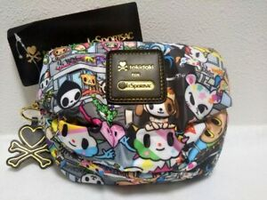 tokidoki FOR LESPORTSAC TOKIDOPOLI Polyester Cosmetic Pouch New from Japan #555