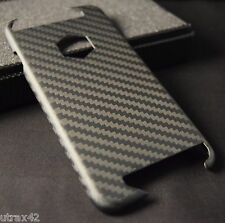 100% Carbon Fiber iPhone 6 & iPhone 6S Case - Matte - Shows Apple Logo - NEW