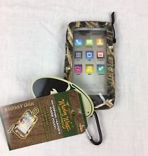 "Waterfowl Hunting Fishing Phone Pouch Case ""Blades"" - NEW WITH TAGS!! Mossy Oak"