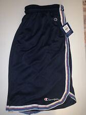 Champion Vintage Basketball Shorts Navy Red Logo Blue Striped Men's (xXL) NWT