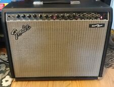 Vintage 1990's USA Fender Princeton Chorus 2x10 Solid State Amp Blackface.Reverb