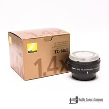 Nikon TC-14EII AF-S Teleconverter w/ Caps + Original Packaging