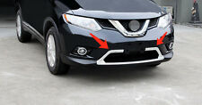 Front Lower Grille Molding Cover Trim Chrome For Nissan Rogue X-trail 2014- 2016