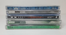 WOW HITS 1999, 2001, 2003, 2004, The 90s - Christian music, 5 sets (10 CDs)