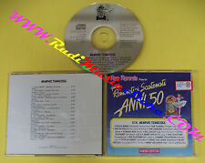 CD QUEI ROMANTICI SCATENATI ANNI 50 Menphis Tennessee COMPILATION QRSAC 37A(C30)