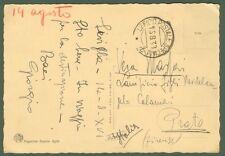 GUERRA DI SPAGNA. Cartolina illustrata del 1938 dall'UFFICIO POSTALE SPECIALE 7