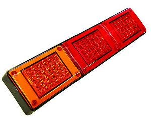New 3 IN 1 DUAL STOP/ TAIL, & REAR INDICATOR JUMBO COMBO LAMP