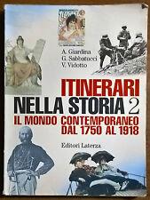Itinerari nella storia 2 - Giardina, Vidotto, Sabbatucci - 1999, Laterza - L