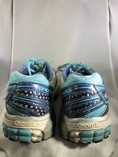 Brooks Adrenaline GTS 13 Womens Shoes Size 11.5 Blue White Cross Training