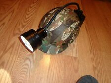 Crystal 1 Coon Hunting Light 6 SETTING RED- GREEN-AMBER  3 CLEAR - BUMP CAP