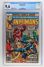 Inhumans #11 - Marvel 1977 CGC 9.6