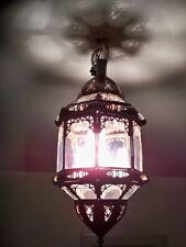 Lustre plafonnier marocain fer forgé t lampe  applique lanterne suspension orien