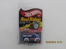 Hot Wheels 2006 REAL RIDERS DAIRY DELIVERY BLUE 08218/11000 MFG KAR KEEPER BBB