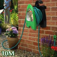 Portable Garden Water Pipe Hose Reel Storage Organizer Holder W/