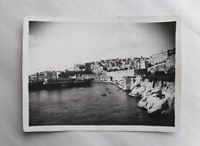 1946 B/W Photograph. View of Valletta, Malta #5. Taken from Troop Carrier Ship