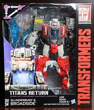 Transformers Generations Titans Return Broadside & Blunderbuss Voyager Figure