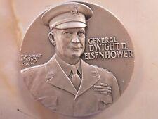 Medallic Art Co .999+ pure silver General Dwight D Eisenhower  #424  57.5 Grams