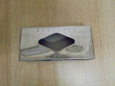 Vintage Scotties Tissue Chrome Stainless Steel Tissue Box Cover Wall Mount