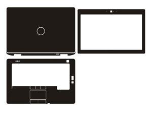 Laptop Sticker Skin Decal Carbon Cover for Dell Latitude E6430 E6420 14-inch