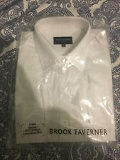 Official Apparel Flybe Issued Pilot Shirt with Tags Long Sleeve 15.5 Collar