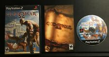 God of War (Sony PlayStation 2 PS2) Game Manual and Case - Complete CIB