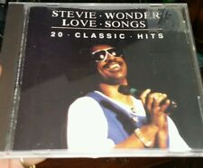 Stevie Wonder - Love Songs 20 Classic Hits - MUSIC CD - FREE POST