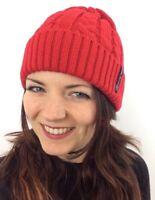 Cappello Donna Berretto Cuffia Misto Lana Cappellino Von Risvolto Moda Inverno