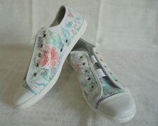 Zapatos mocasines zapato semi marca de zapatillas de cuero de Filipe Shoes talla 38 (5) ancho G