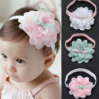Cute Lace Flower Hair Band Headwear Headband Baby Toddler Kids Hair Accessories