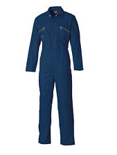 Dickies Wd4839 Redhawk Zip Front Coverall Navy Blue 44 T