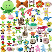 US Lots Pet Puppy Funny Chew Play Squeaker Squeaky Soft Plush Sound Dog Toys