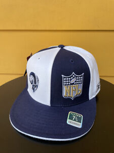 NEW VINTAGE ST. LOUIS LOS ANGELES RAMS REEBOK FITTED CAP HATS NAVY BLUE