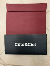 Côte&Ciel ( Cote & Ciel ) Fabric Textile Pouch for iPad mini - Red Melange