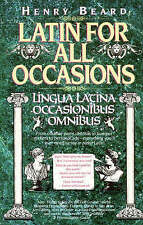 Latin for All Occasions by H Beard (Hardback, 1992)