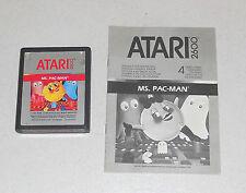 ATARI 2600 - MS PAC-MAN - OTTIMO 1983 Pac man