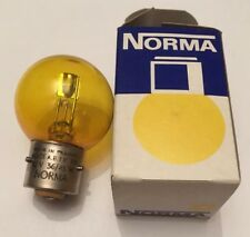 Ampoules Norma JAUNE Pack 2 pièces 12v 36/45w Ba21d