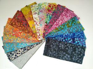 Batik Fabric, Cherry Design, 100% Cotton, FQ ,Crafting, Quilting Patchwork