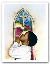 He Answers My Prayers Giclee Kenneth Gatewood African American Art Print 18x24